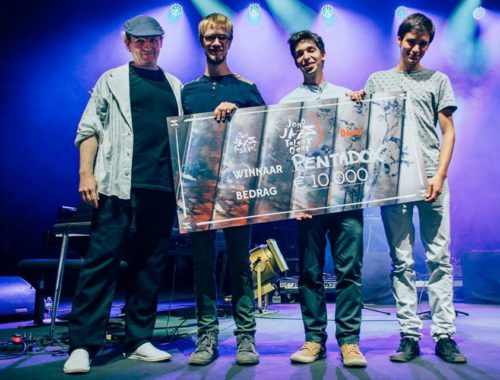 WINNER JONG JAZZ TALENT GENT 2018 – GENT JAZZ FESTIVAL