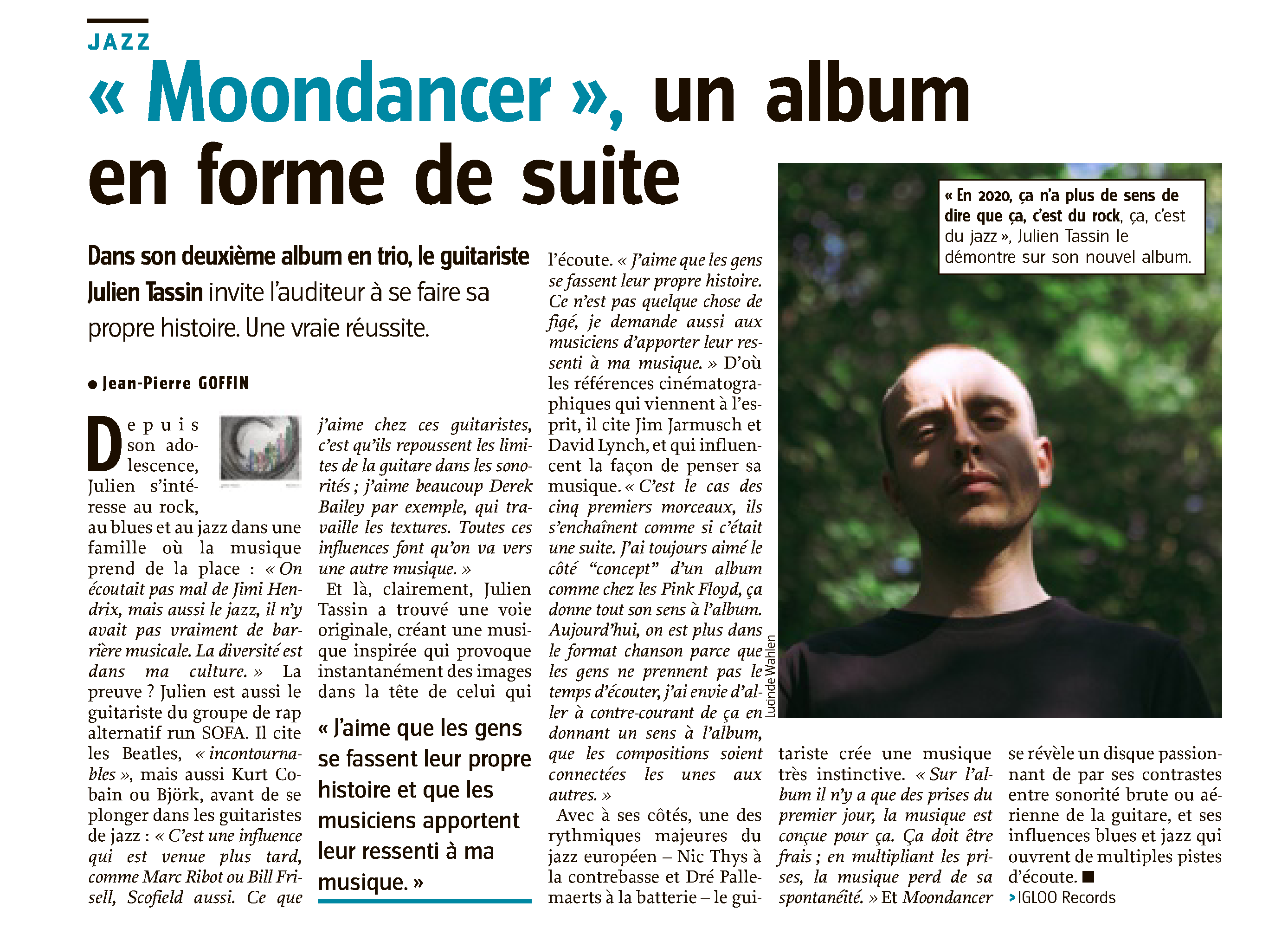 julien tassin trio moondancer
