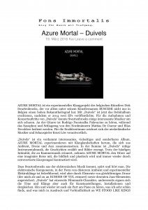 Fons Immortalis - Azure Mortal – Duivels-1