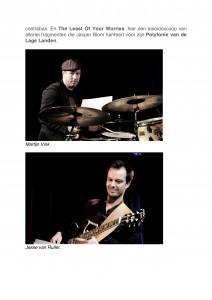 Jazz Nu - Interview bouwen aan een nieuw meesterwerk- Jasper Blom Quartet feat. Bert Joris-4