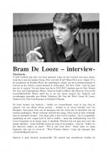MeerkatBram - interview - De Looze-1