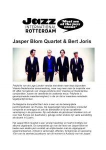 NRC Handelsblad - Jasper Blom Quartet-1