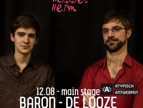 Pictures – Jazz Middelheim 2018 – Baron – De Looze – Verheyen