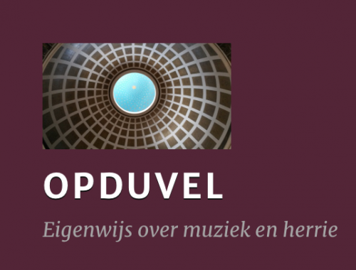 OPDUVEL – Donder